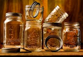 mason jars background on hipwallpaper