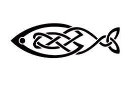 Amazon Com Celtic Fish Vinyl Decal Celtic Wall Art Celtic Knot Stickers Celtic Knot Decals Fish Decals Fish Stickers Handmade