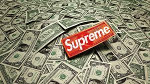 iphone 6 supreme money wallpaper