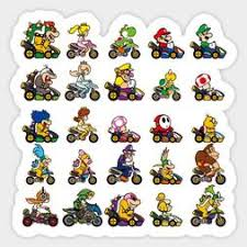 Mario Car Decal Cardecal Org