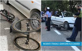 Alex Zanardi, grave incidente in handbike: portato in ospedale con ...