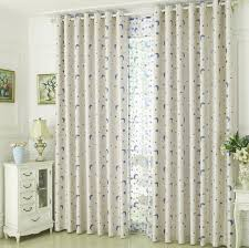 White Kids Toddler Moon And Star Curtains Blackout Bedroom Drapes