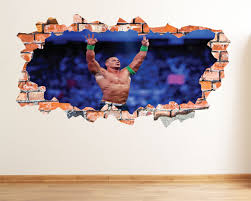 John Cena Wwe Wrestling Boy Wall Room Decor Birthday Sticker Xl 85x53cm For Sale Online Ebay