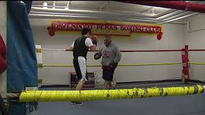 davenport turns to boxing to stay