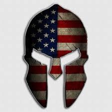Spartan Helmet Decals Greek Warrior Fighting Sticker