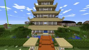 ᐅ Build Asia House With Garden In Minecraft Minecraft Bauideen De