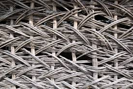Organic Woven Willow Wicker Fence Panel Suitable For Crafts Stock Photo Picture And Royalty Free Image Image 118541907