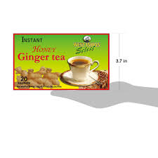 Amazon.com : West Indian Select Honey Ginger Tea (20 Sachets) 18 G/0.63oz  (Pack of 3) : Grocery & Gourmet Food