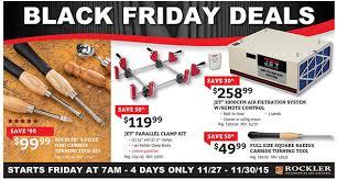 Rockler Black Friday 2015 Woodworking Tool Deals
