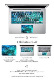 Chromebook Skin Chromebook Decal Chromebook Cover Keyboard Decal Sticker Acer Asus Dell Hp Lenovo Toshiba Blue Chromebook Skin Keyboard Decal Chromebook Cover