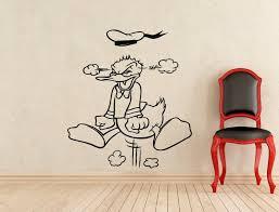 Home Garden Minnie Mouse Daisy Duck Wall Stickers Kids Vinyl Print Poster Art Mural Decal Decor Decals Stickers Vinyl Art