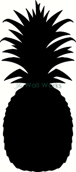 Pineapple Wall Sticker Vinyl Decal The Wall Works