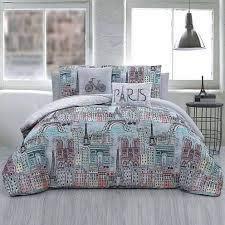 comforter sets paris bedding