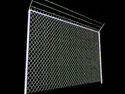 Chainlink Fence Barbed Wire High Detail 3d Model From Cgtrader Com Youtube