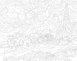Tarweveld Met Cipressen 1889 1890 Door Vincent Van Gogh
