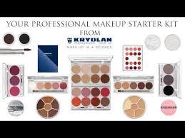 starter kit with kryolan makeup