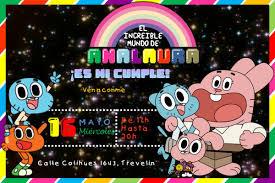 Kit Imprimible El Increible Mundo De Gumball Candy Bar Dec
