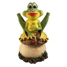large garden frog statue feng shui