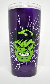 The Incredible Hulk 20oz Stainless Steel Tumbler Stainless Steel Tumblers Tumbler Cups Diy Custom Tumbler Cups