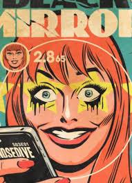 black mirror episodes as vintage comic