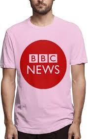 BGFYJN BBC News Men's Short Sleeve T-Shirt 100% Cotton Pink: Amazon.ca:  Clothing & Accessories