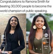 How Ramona Smith Became the World Champion of Public Speaking