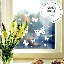 Window Decal Butterflies Eastern Window Stickers Reusable Dots Self Adhesive For Kids M2348 Wall Decals Bumper Sticker Murals Bags Cups Backpacks And Many More At Www Deinewandkunst Com