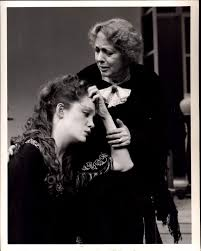 Myra Carter and Madeleine Potter in ABINGDON SQUARE (1987) « WP Theater