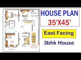 35 x 45 house plan design east