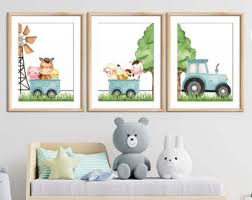 Farm Kids Room Decor Etsy