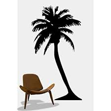 Stickerbrand Naturebeach House Vinyl Wall Art Big Palm Tree Wall Decal Sticker Black 72 X 38 6ft Tall 132a 72x38 Buy Products Online With Ubuy Lebanon In Affordable Prices B01ab5b4w6