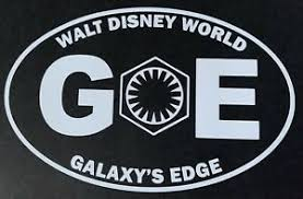 Walt Disney World Galaxy S Edge First Order Vinyl Decal Star Wars Ebay