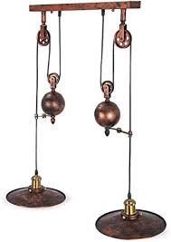 orangea pulley pendant light 19 5 dia