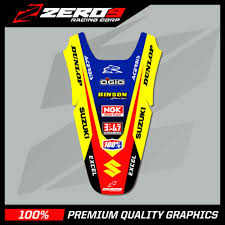 Decals Stickers Vehicle Parts Accessories Suzuki Rmz 250 07 09 Rear Fender Decal Mx Graphics Ti Nguyencuongcomputer Com