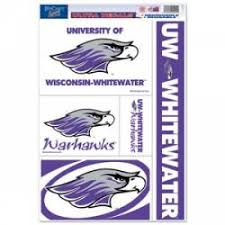 University Of Wisconsin Whitewater Stickers Decals Bumper Stickers