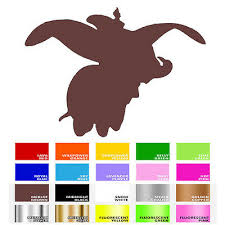Dumbo Shadow Vinyl Decal Sticker For Wall Car Window Macbook Laptop Bike Helmet 7 90 Picclick
