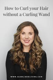 how to curl your hair without a curling