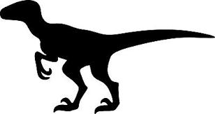 Velociraptor Decal Sticker Car Window Dinosaur Jurassic Laptop Vinyl Any Size 2 50 Picclick