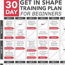 weight loss gym calendar