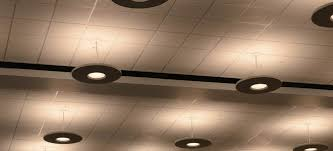 install lighting in a suspended ceiling