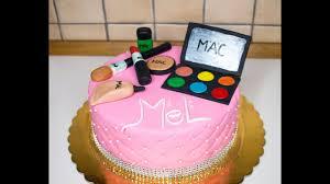 how to make a mac make up cake you
