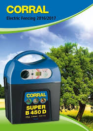 Corral Electric Fencing 2016 17