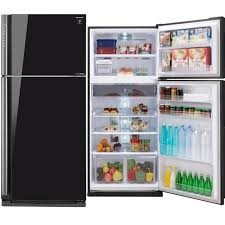 win a deluxe sharp glass door fridge