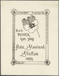 Shelton, Ada Stewart. | Digital Collections at the University of Illinois  at Urbana-Champaign Library