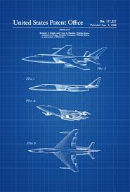 1956 boeing jet patent airplane