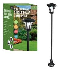 1 66 garden solar lamp post homevibe