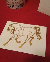 Horse Decal Equestrian Decal Horse Sticker Car Decal Etsy