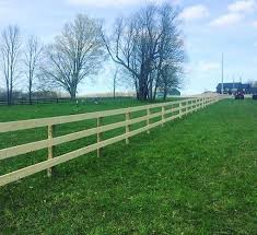 Horse Fencing In Central Ontario Johnston Fence Contracting