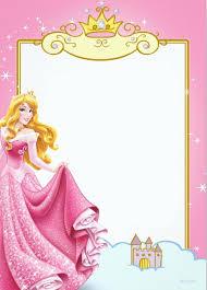 Free Printable Princess Invitation Templates Invitaciones De