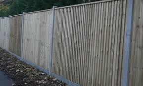 Morticed Fence Posts For Timber Closeboard Fencing Allen Concrete